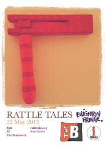 Rattle Poster Fringe 2013 new