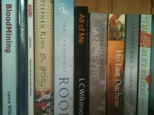 Books, including some of my own