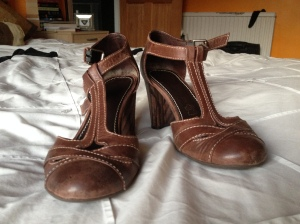 Shoes I bought in Richmond!