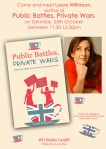 WH Smith Show Card with author (3)